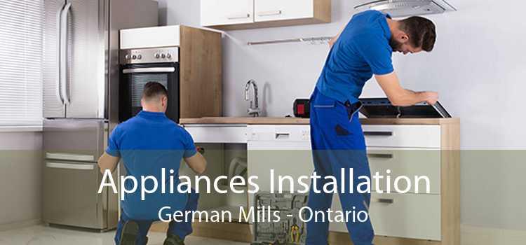 Appliances Installation German Mills - Ontario