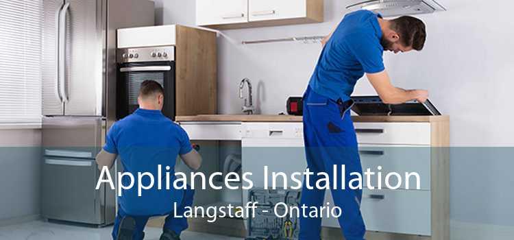 Appliances Installation Langstaff - Ontario
