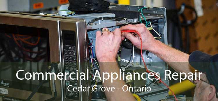 Commercial Appliances Repair Cedar Grove - Ontario