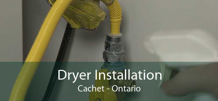 Dryer Installation Cachet - Ontario