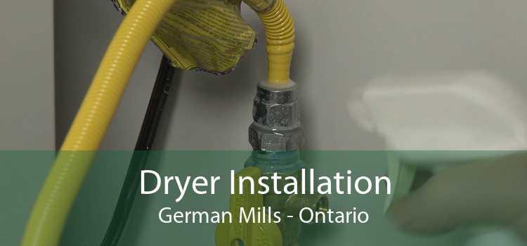 Dryer Installation German Mills - Ontario