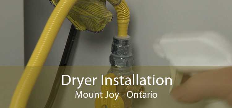 Dryer Installation Mount Joy - Ontario