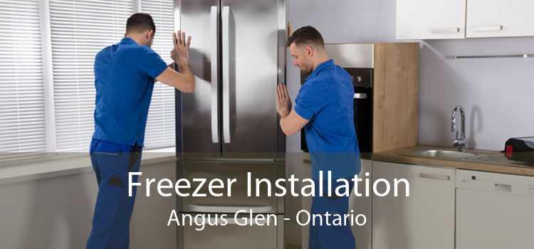 Freezer Installation Angus Glen - Ontario