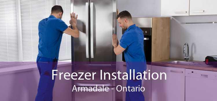 Freezer Installation Armadale - Ontario