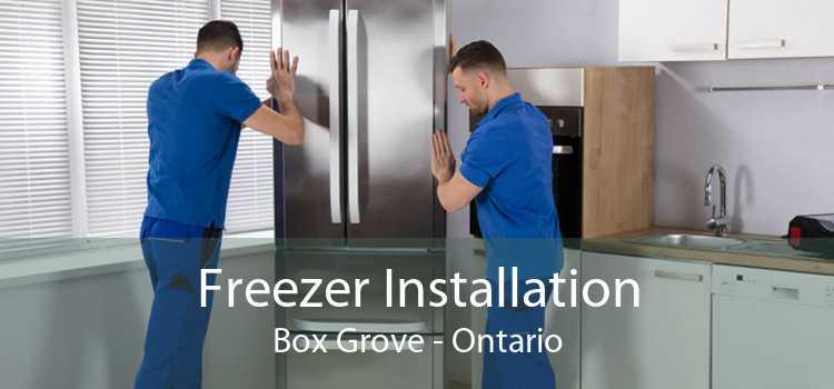 Freezer Installation Box Grove - Ontario