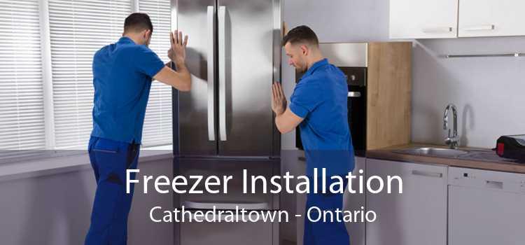 Freezer Installation Cathedraltown - Ontario