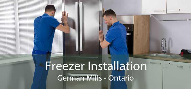 Freezer Installation German Mills - Ontario