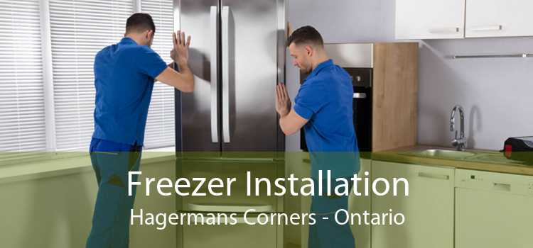Freezer Installation Hagermans Corners - Ontario