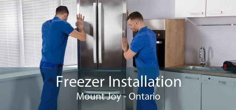 Freezer Installation Mount Joy - Ontario
