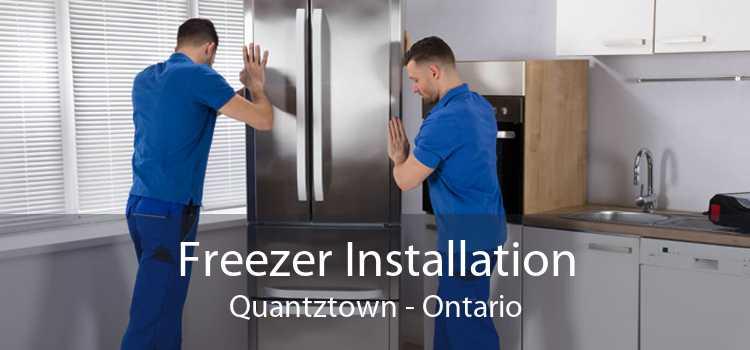 Freezer Installation Quantztown - Ontario