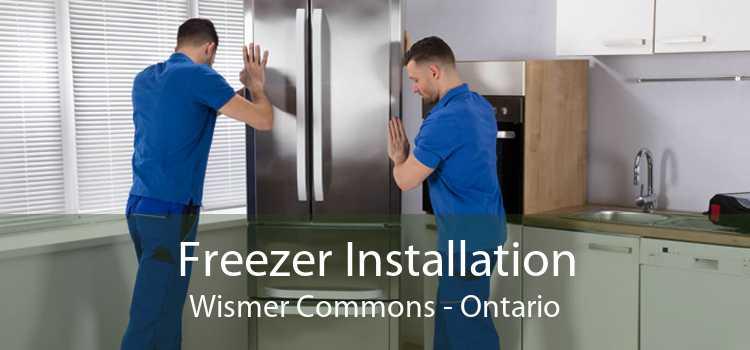Freezer Installation Wismer Commons - Ontario