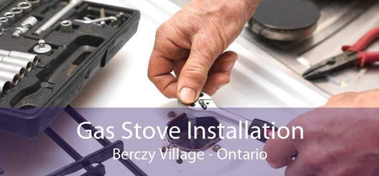 Gas Stove Installation Berczy Village - Ontario