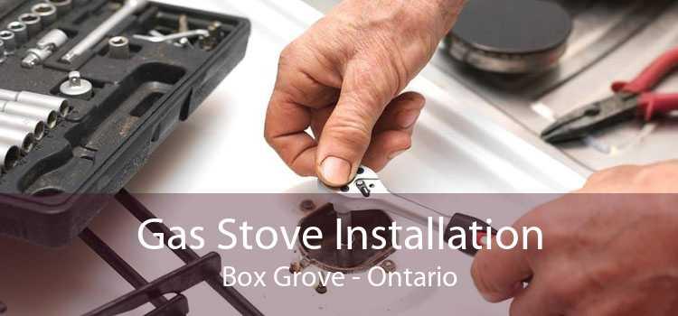 Gas Stove Installation Box Grove - Ontario