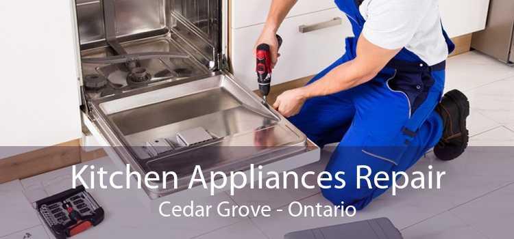 Kitchen Appliances Repair Cedar Grove - Ontario