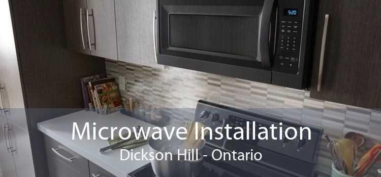 Microwave Installation Dickson Hill - Ontario