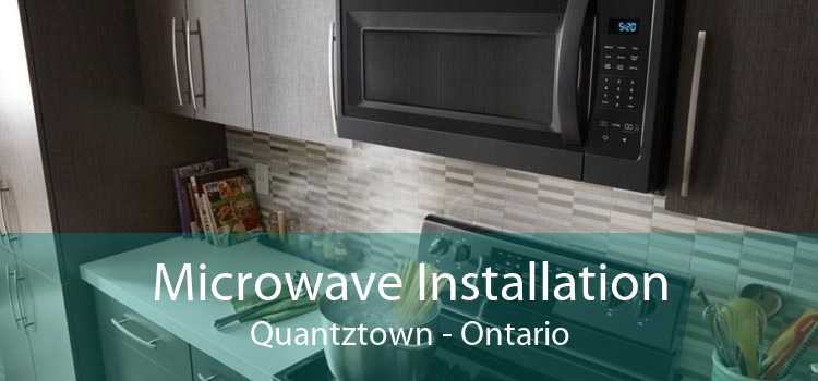 Microwave Installation Quantztown - Ontario