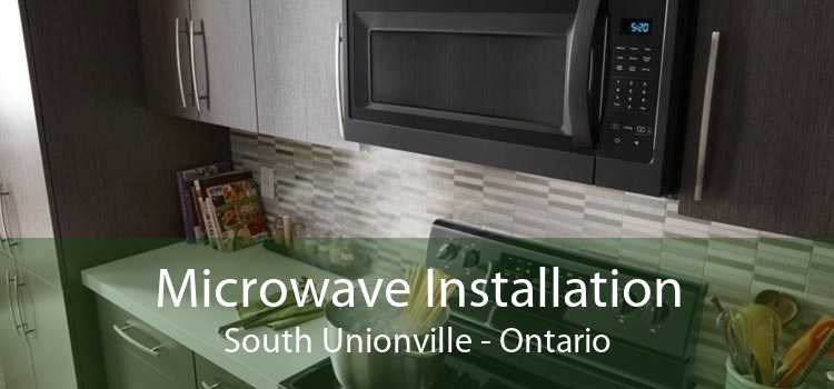 Microwave Installation South Unionville - Ontario