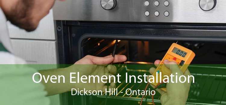 Oven Element Installation Dickson Hill - Ontario