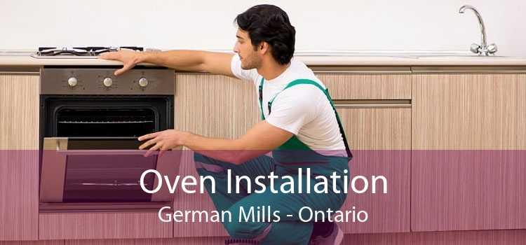 Oven Installation German Mills - Ontario