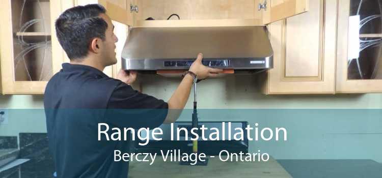 Range Installation Berczy Village - Ontario