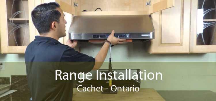 Range Installation Cachet - Ontario