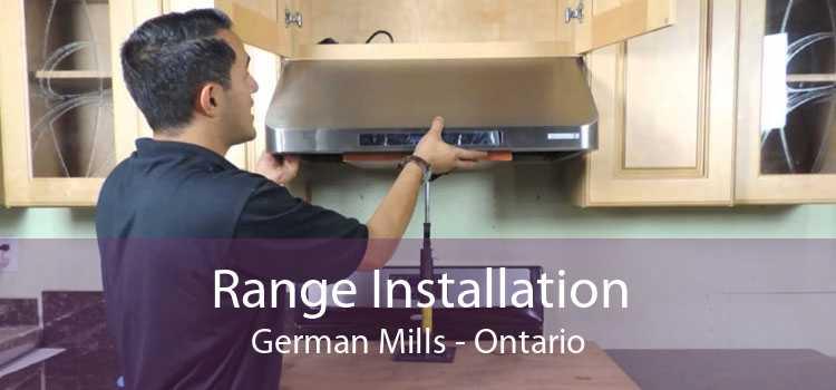Range Installation German Mills - Ontario