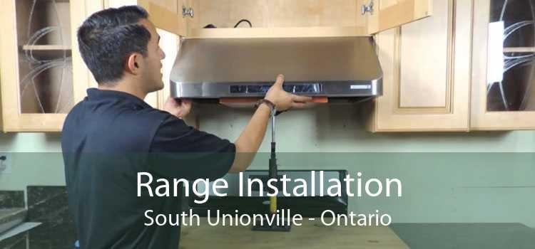 Range Installation South Unionville - Ontario