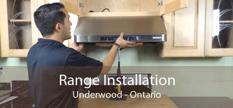 Range Installation Underwood - Ontario