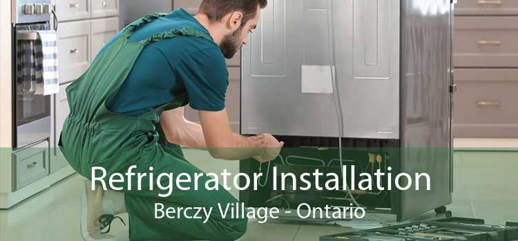 Refrigerator Installation Berczy Village - Ontario