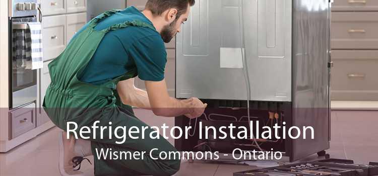 Refrigerator Installation Wismer Commons - Ontario