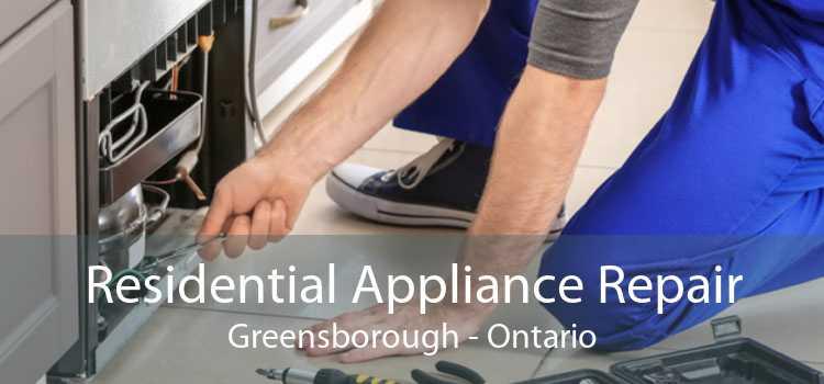 Residential Appliance Repair Greensborough - Ontario