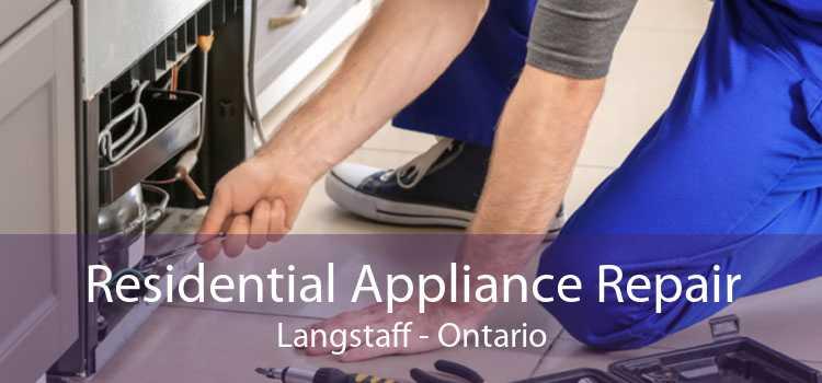 Residential Appliance Repair Langstaff - Ontario