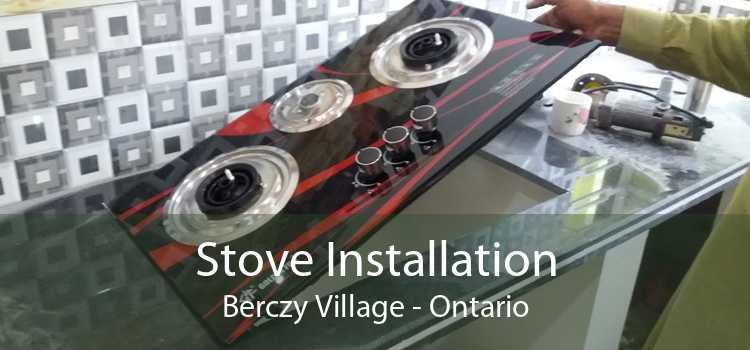 Stove Installation Berczy Village - Ontario