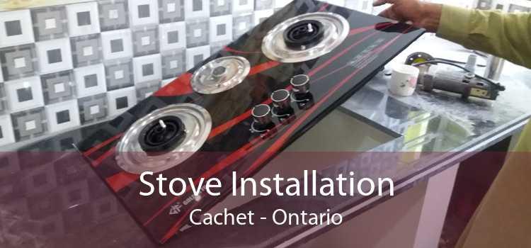 Stove Installation Cachet - Ontario