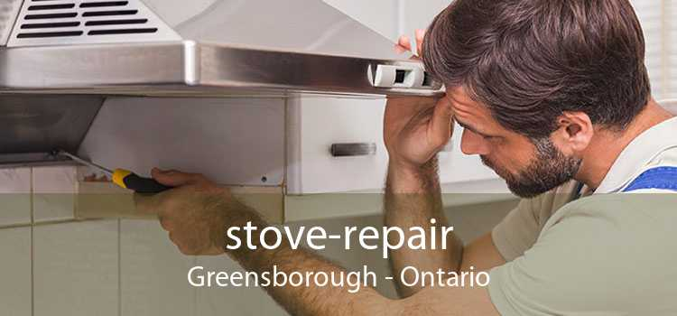 stove-repair Greensborough - Ontario