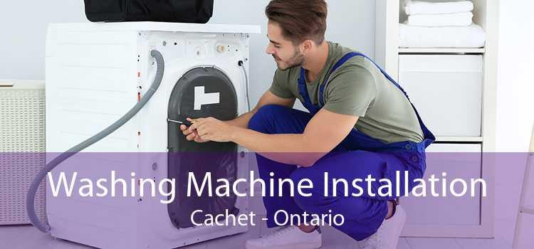 Washing Machine Installation Cachet - Ontario