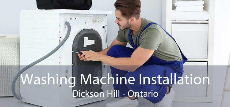 Washing Machine Installation Dickson Hill - Ontario