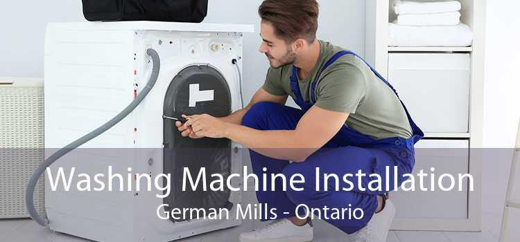 Washing Machine Installation German Mills - Ontario