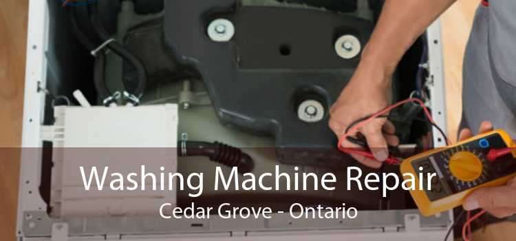 Washing Machine Repair Cedar Grove - Ontario